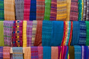 Tessuti tipici maya