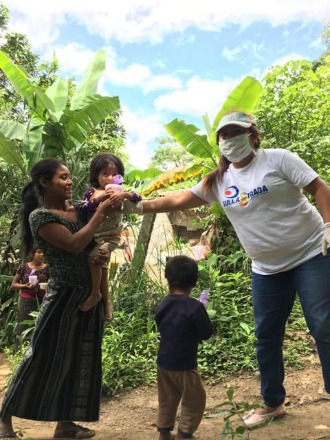 Distribuzione cibo_Guate